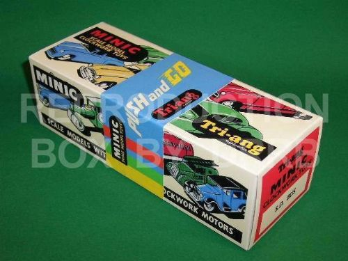 Minic #52M Single Decker Bus - Reproduction Box